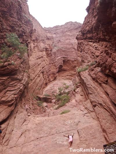 Garganta del Diabolo - the Devil's gorge
