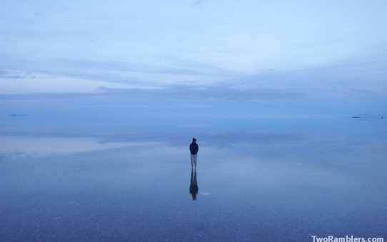 The Salar de Uyuni in rain season – A surreal world