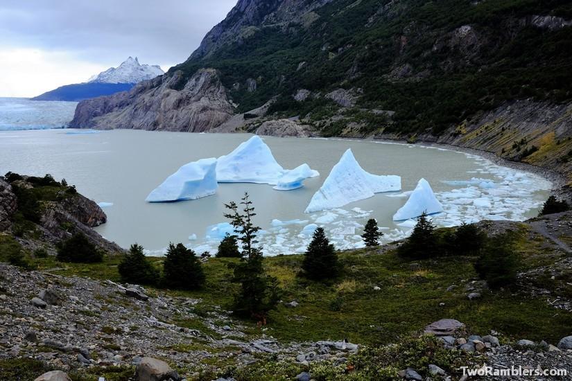 Icebergs, Glacier Grey, Torres del Paine