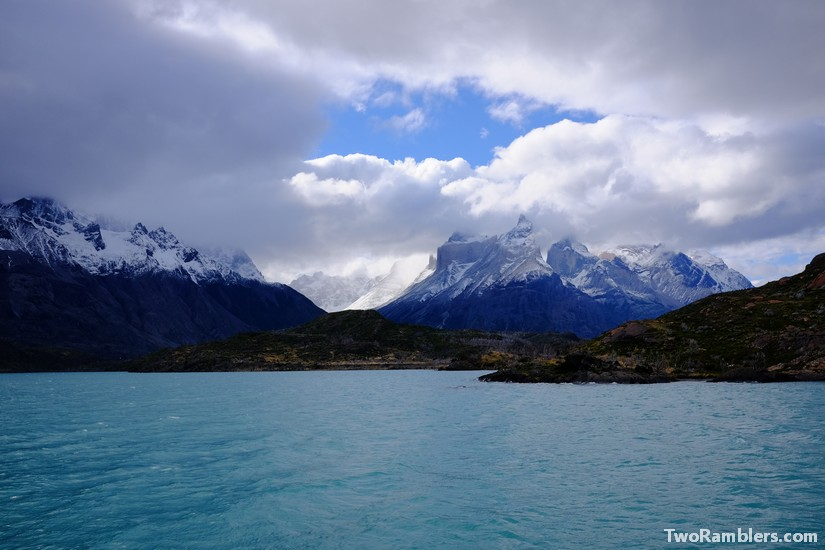 Lago Pehoe, Torres del Paine