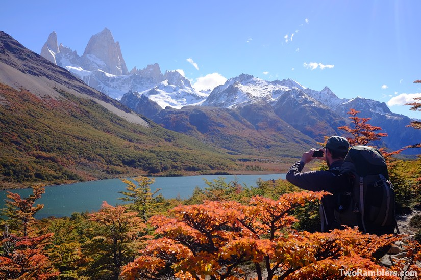 Mount Fitz Roy in autumn colours