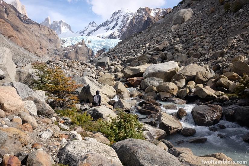 Glacier Fitz Roy, El Chalten