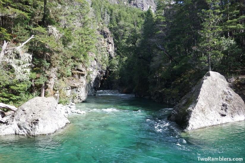 Rio Azul, El Bolson, Argentina