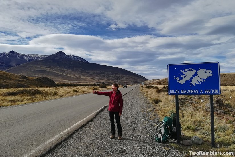 'Doing the thumb' - our hitchhiking experiences in Patagonia