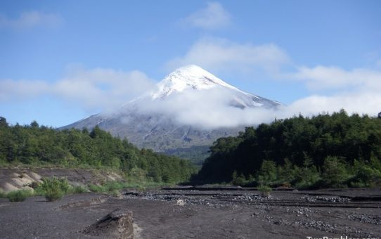 At the foot of Volcano Osorno