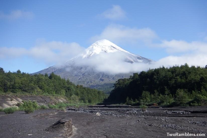 At the foot of Volcano Osorno