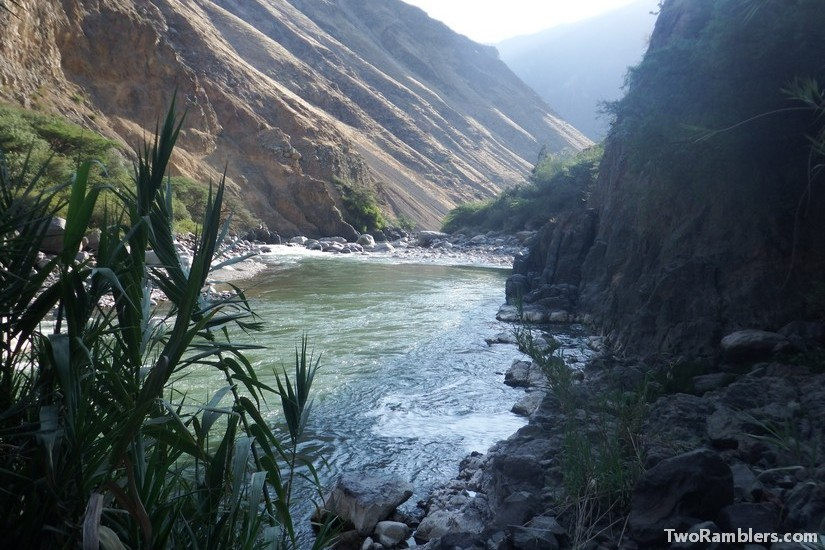 Rio Colca at Llahuar Lodge, Peru