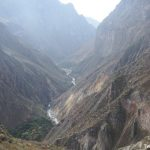 Into the Colca Canyon – and back out