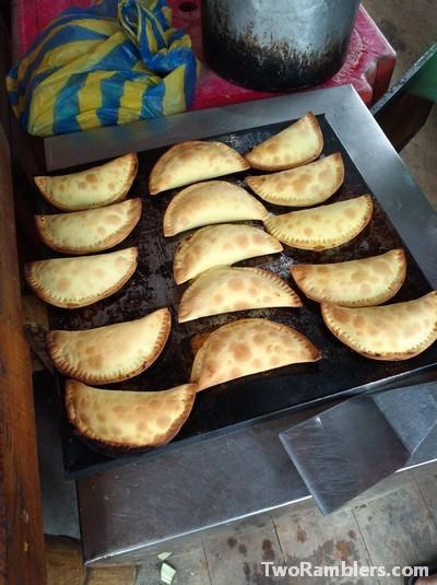 Empanadas, Amor Infinito, Montañita, Ecuador