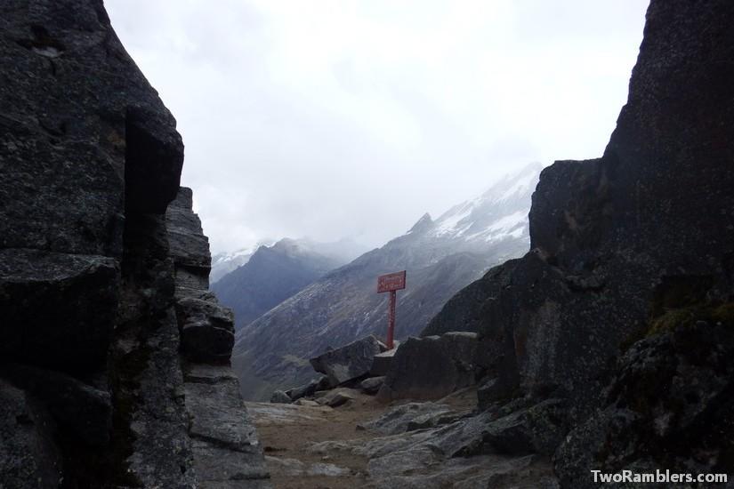 Pass Punta Union, Santa Cruz Trek, Peru