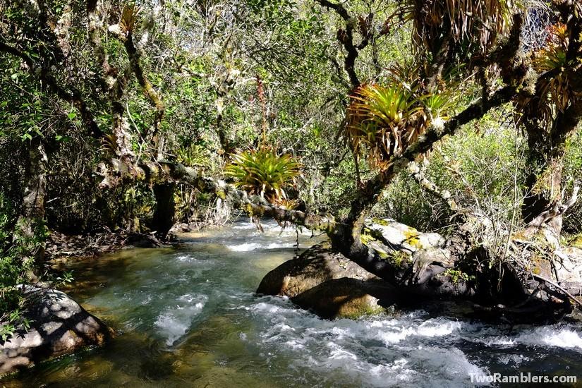 River, Santa Cruz Trek, Peru