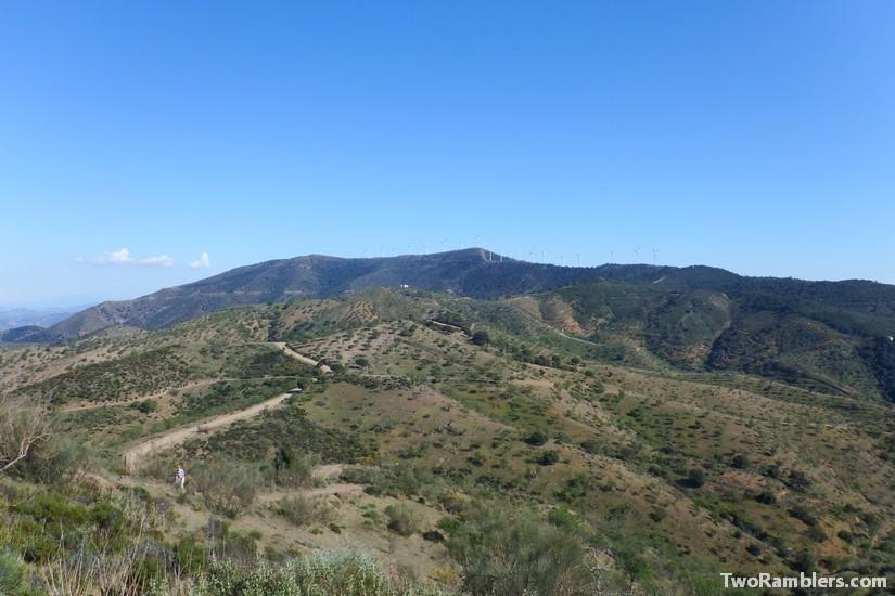 Dry hills, Andalucía