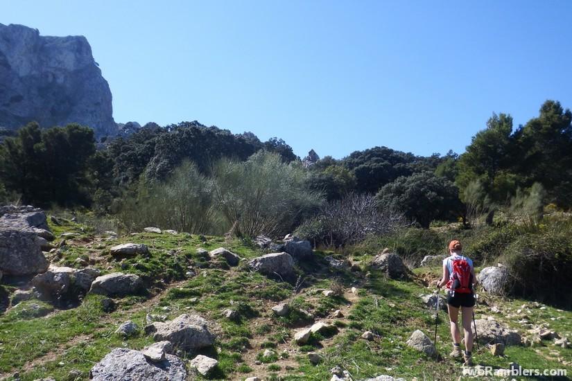Hiking path, Andalucía