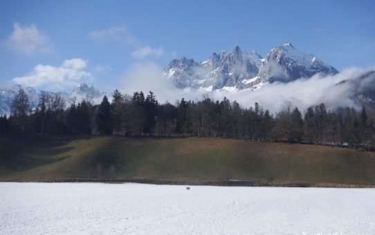 An adventurous day in Sankt Johann in Tirol or living on a ski slope