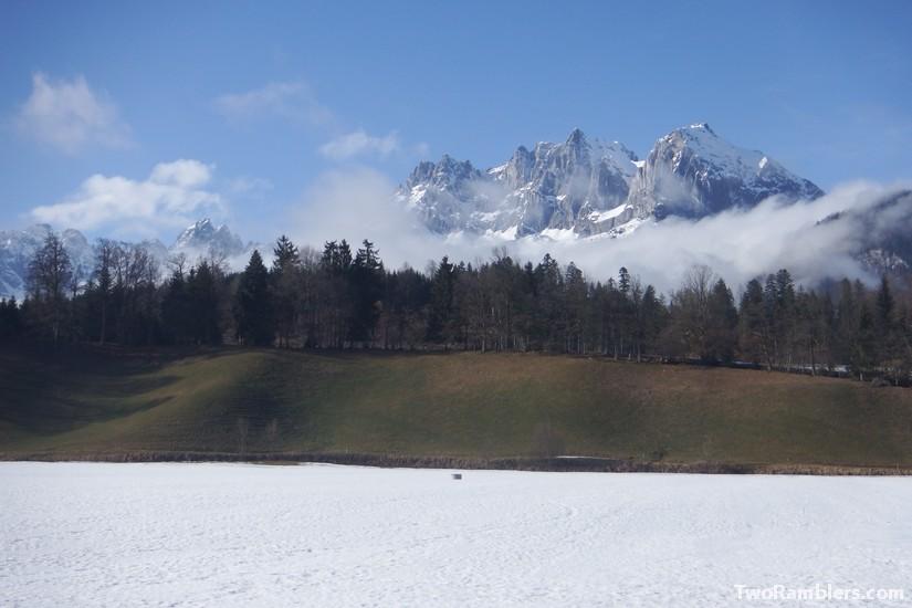 An adventurous day in Sankt Johann in Tirol or living on a ski slope